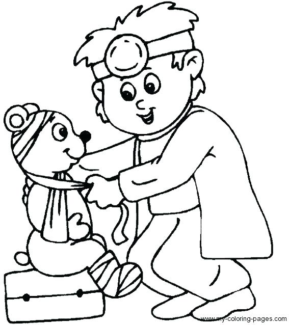 567x638 Band Aid Coloring Page First Aid Coloring Sheets For Kids Band Aid