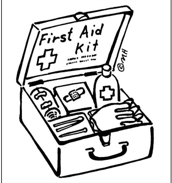 566x600 First Aid Coloring Pages First Aid Coloring Pages For Kids Many