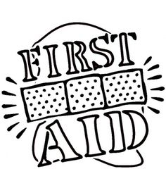 236x240 Coloring Page For First Aid Badge Brownie First Aid Badge
