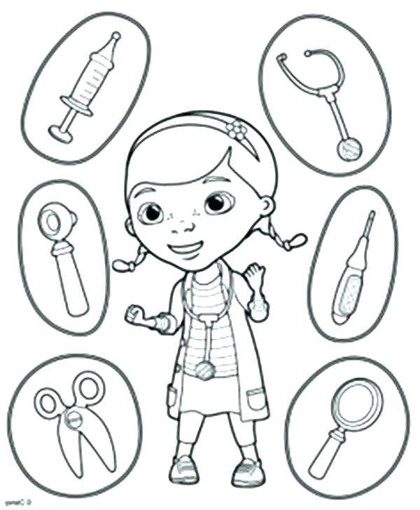 600x727 First Aid Coloring Pages