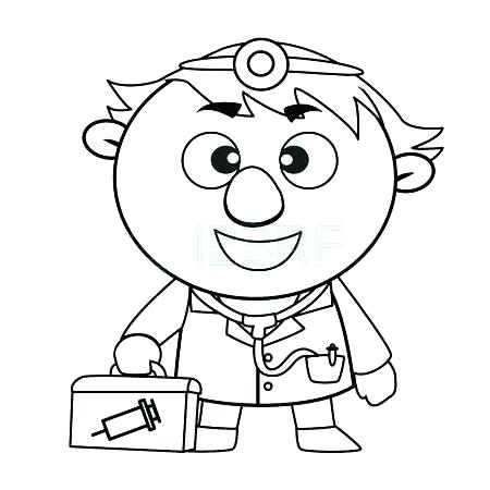 450x450 Medical Coloring Pages
