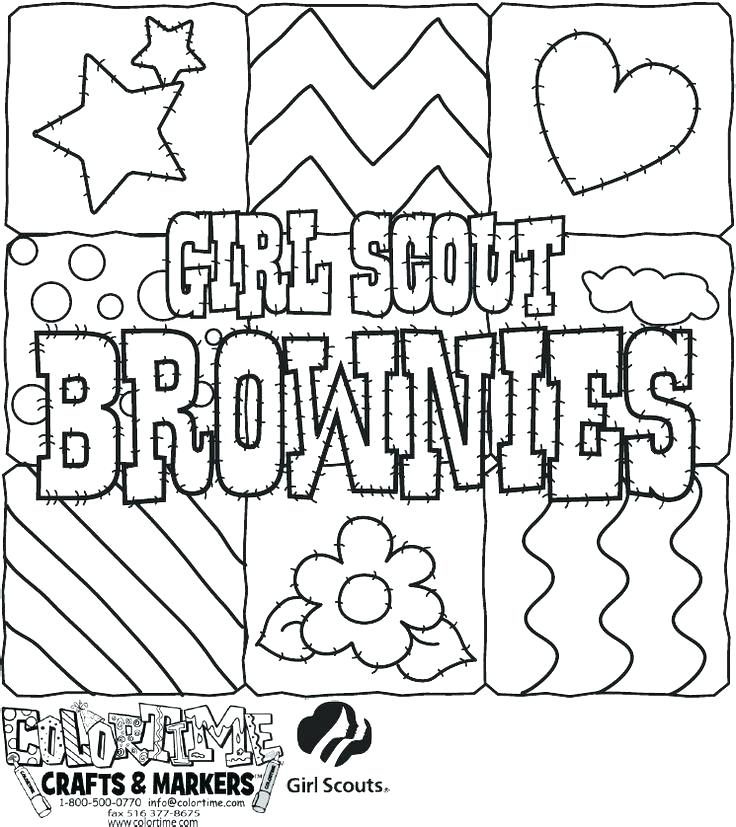 736x827 Coloring Pages For Girl Scouts First Aid Coloring Pages Brownie