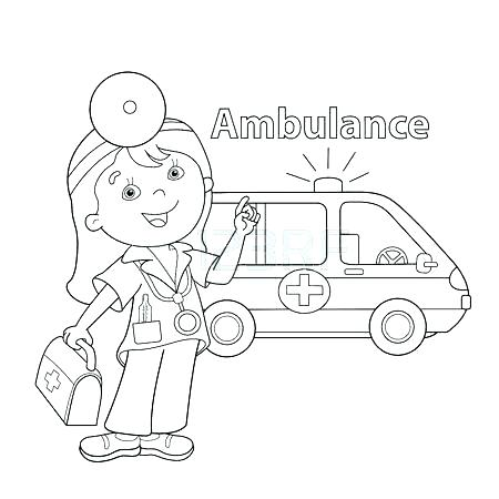 450x450 Doctors Bag Colouring Page First Aid Coloring Pages Share