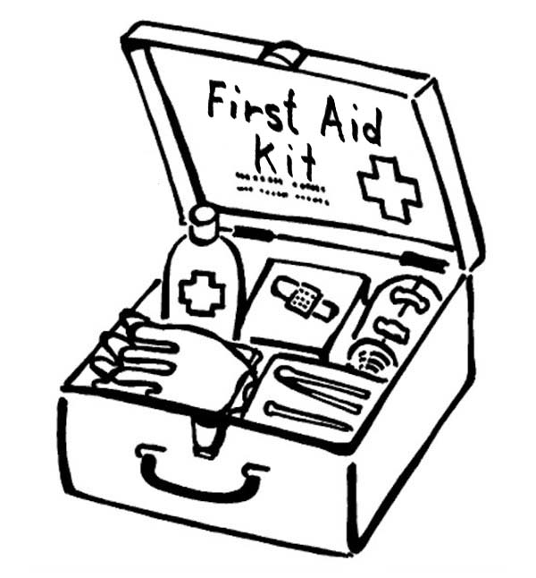 600x646 First Aid Coloring Pages Awesome First Aid Coloring Pages First