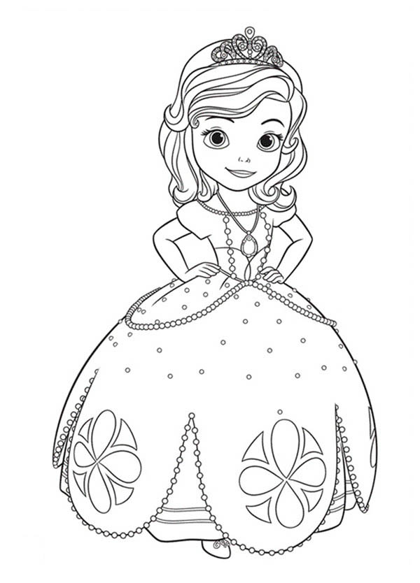 The best free Sofia coloring page images. Download from 622 free ...