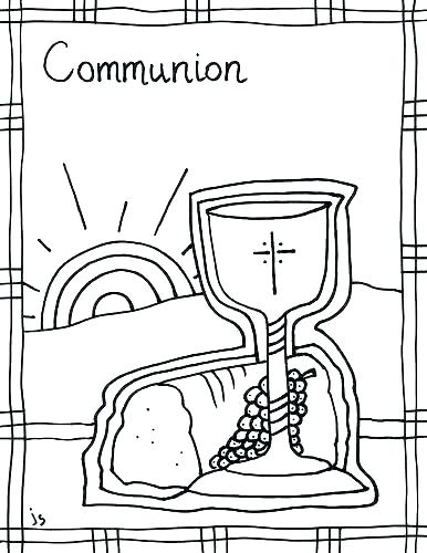 386x500 Eucharist Coloring Pages Coloring Pages Catholic On Pins First