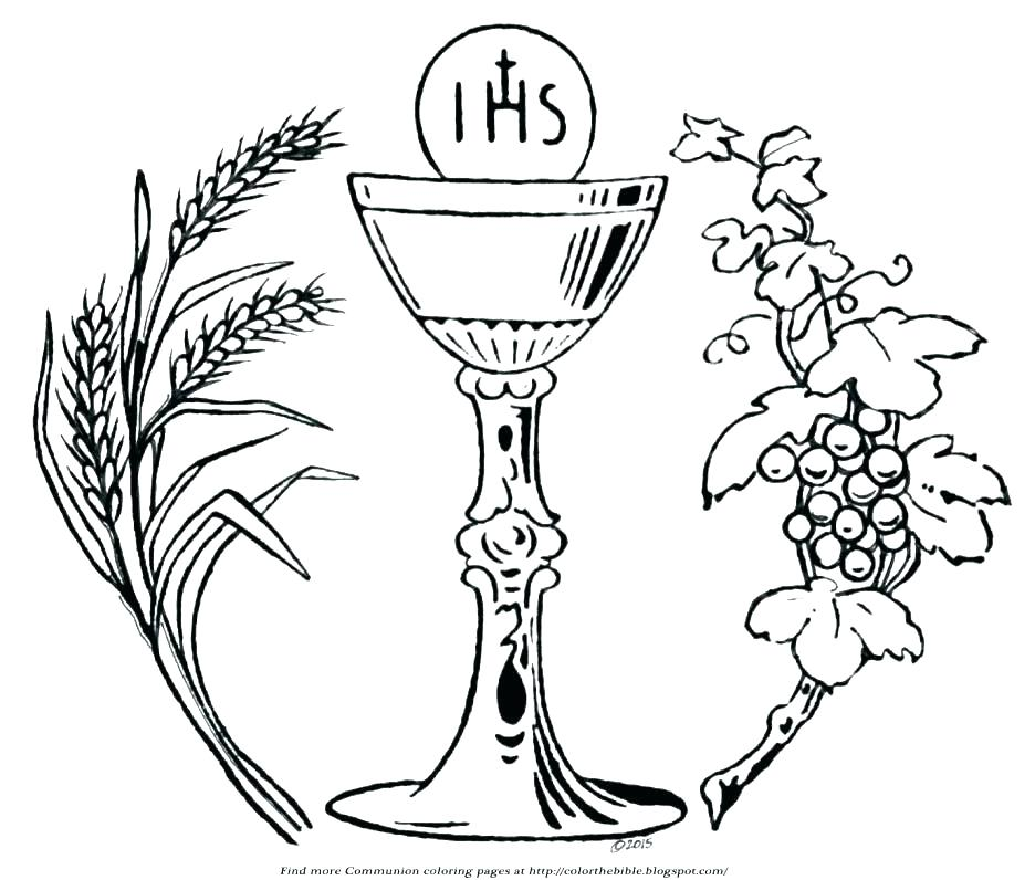 936x796 Eucharist Coloring Pages First Communion Coloring Pages Cross