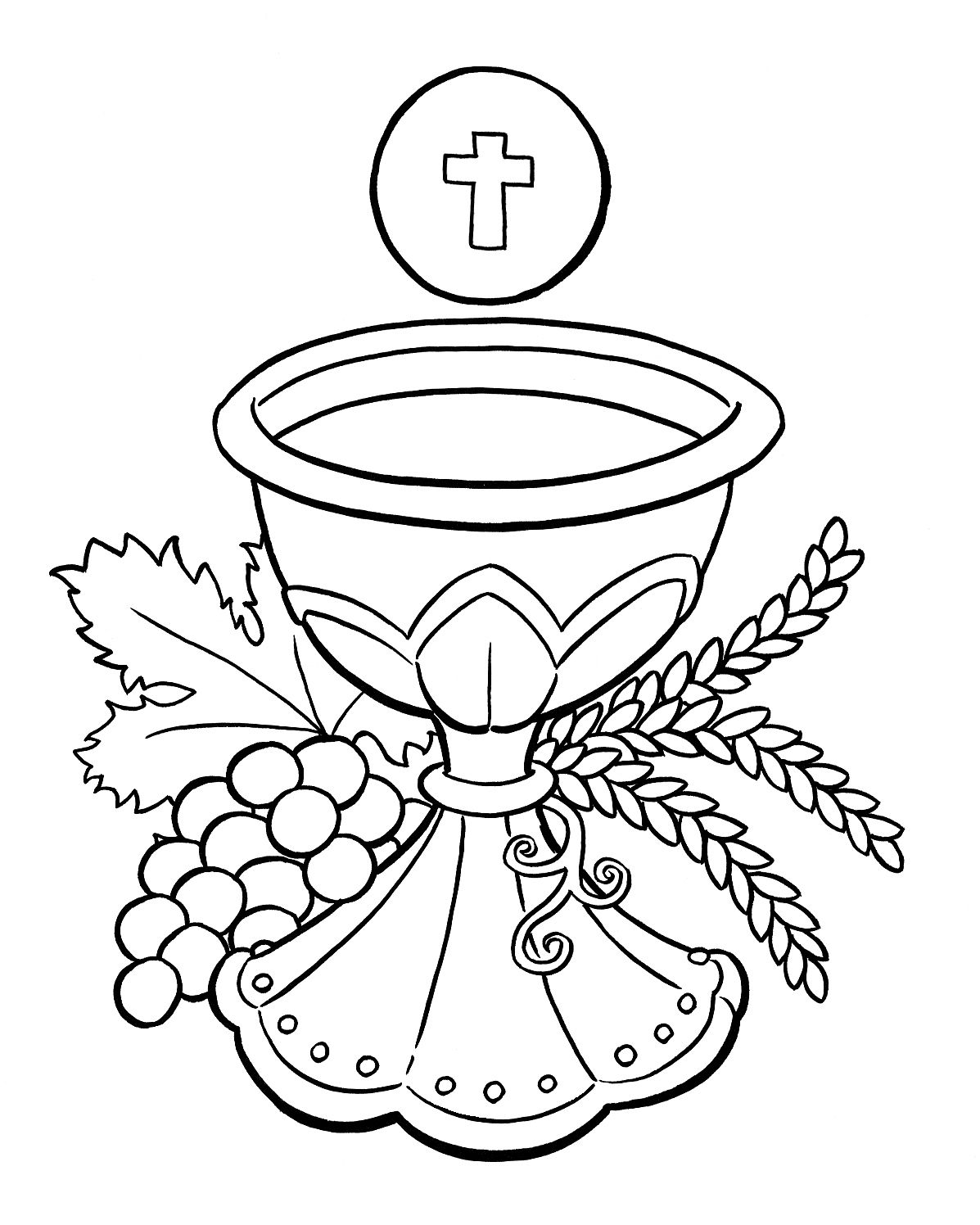 1197x1496 First Communion Chalice And Host And A Few Other First Eucharist