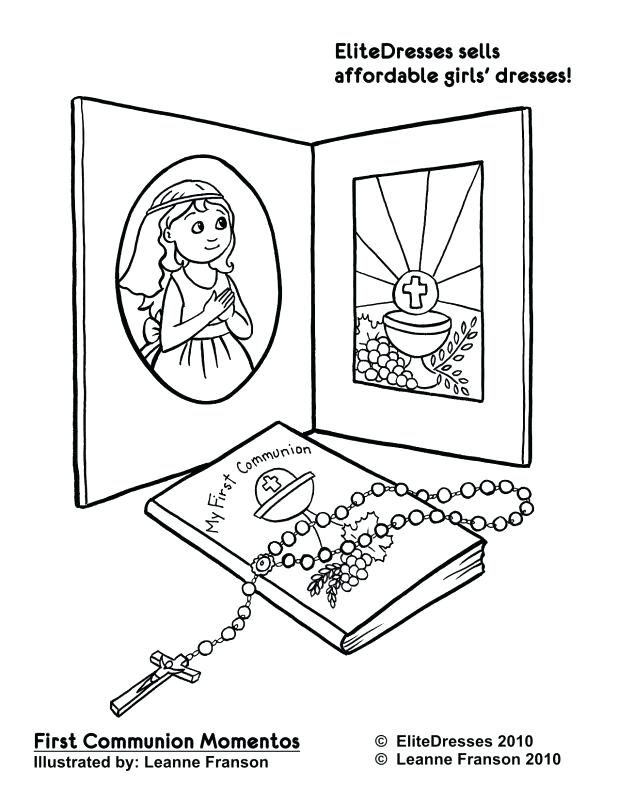618x800 First Communion Coloring Pages Adult Communion Paper Items First