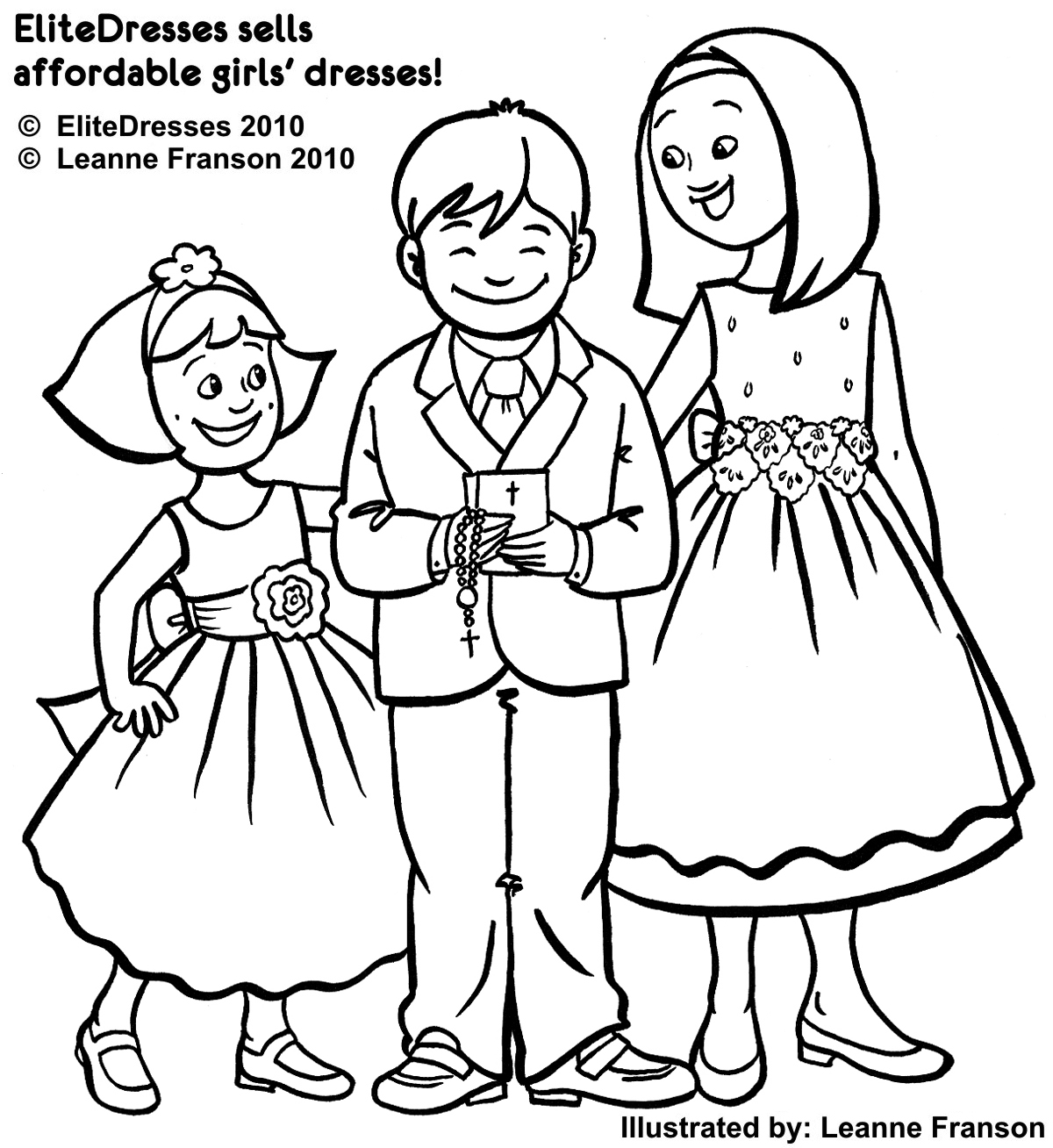 1200x1308 First Communion Dress Coloring Pages