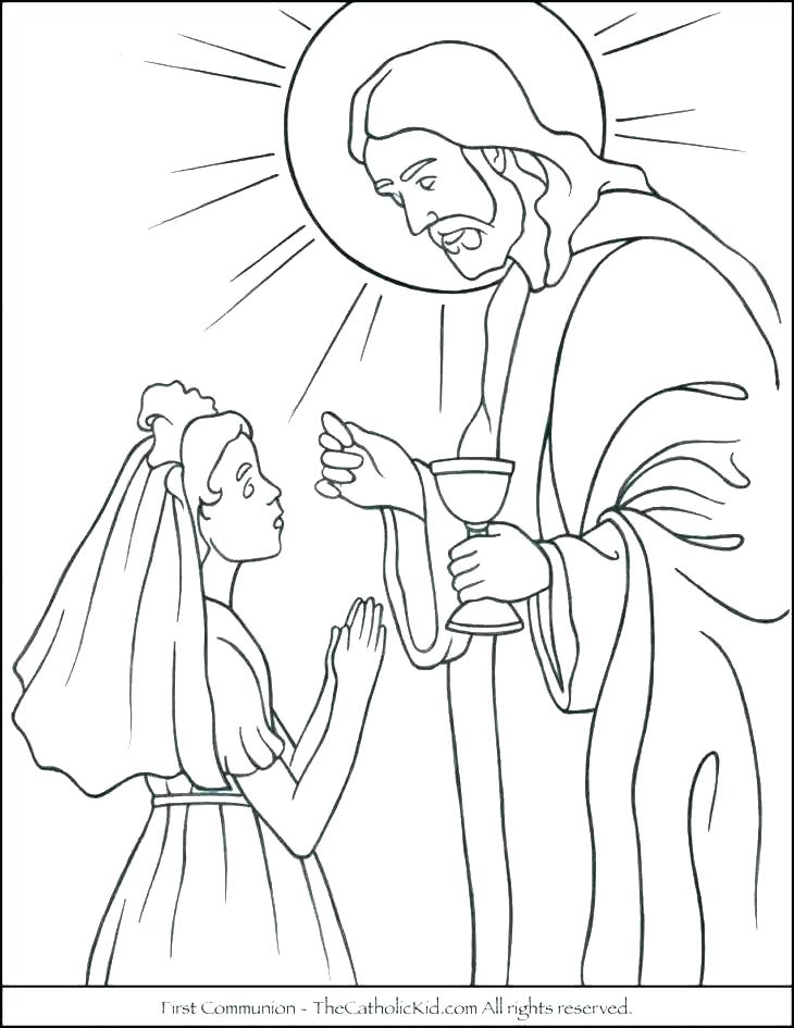 730x945 Bread Coloring Page Bread Coloring Pages First Communion Coloring