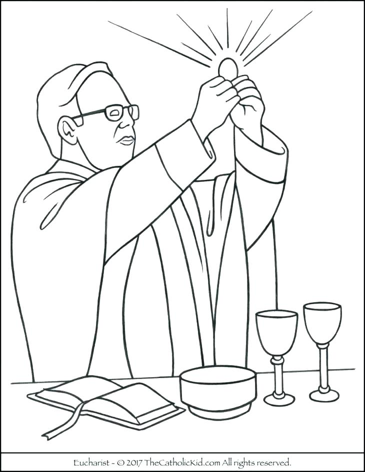 730x945 World Communion Coloring Pages Printable Coloring First Communion