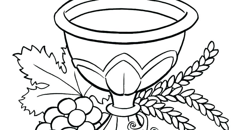 860x450 Communion Coloring Pages First Communion Coloring Pages Coloring