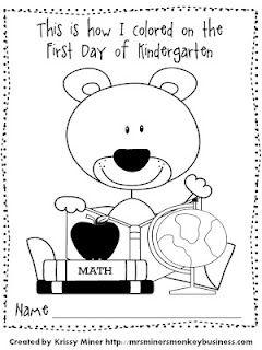 240x320 Kindergarten Back To School Freebie Monkey Business, Pre School