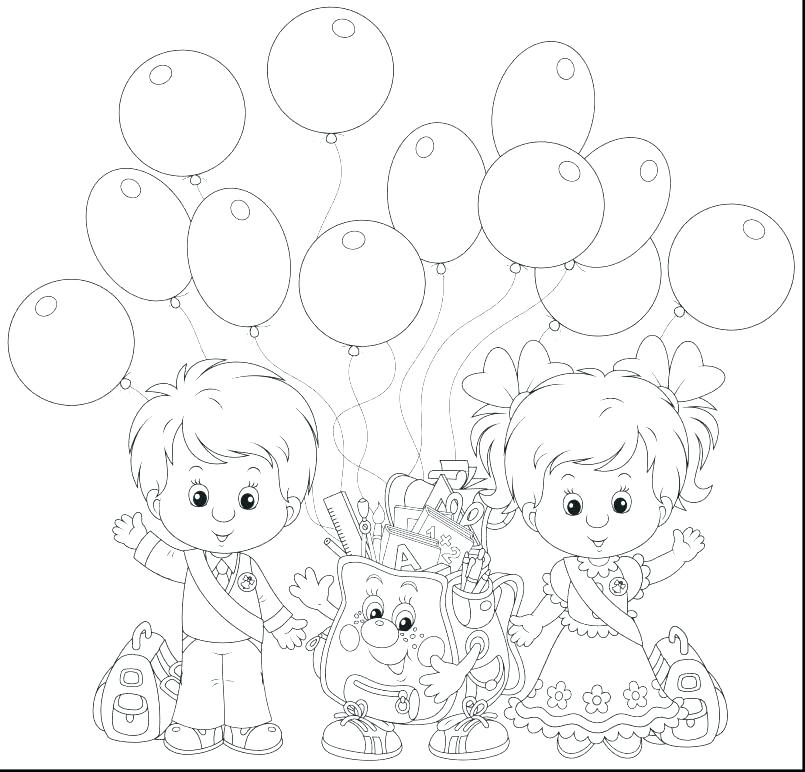 805x772 First Day Of School Coloring Page Back To School Coloring Pages