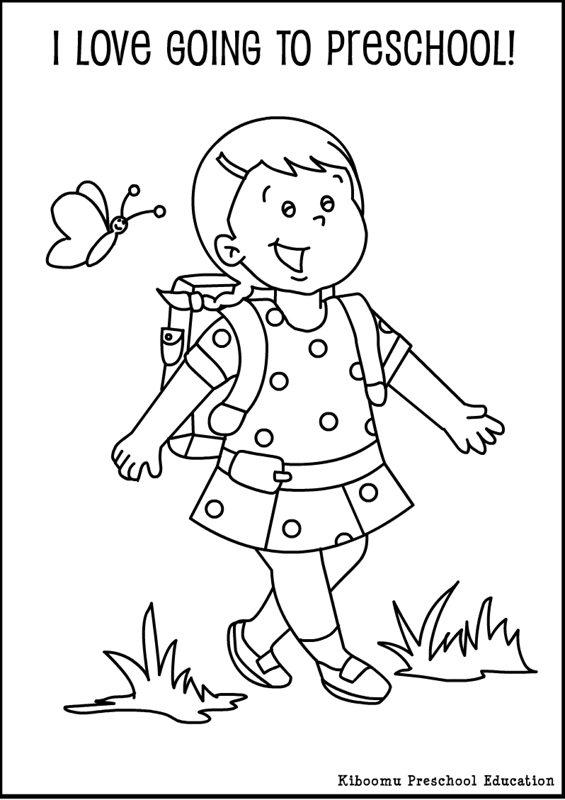 565x800 Preschool First Day Of School Coloring Pages Preschool First