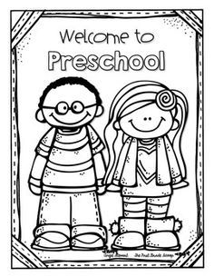 236x305 Free Editable Coloring Page For The First Day Of School! Preschool