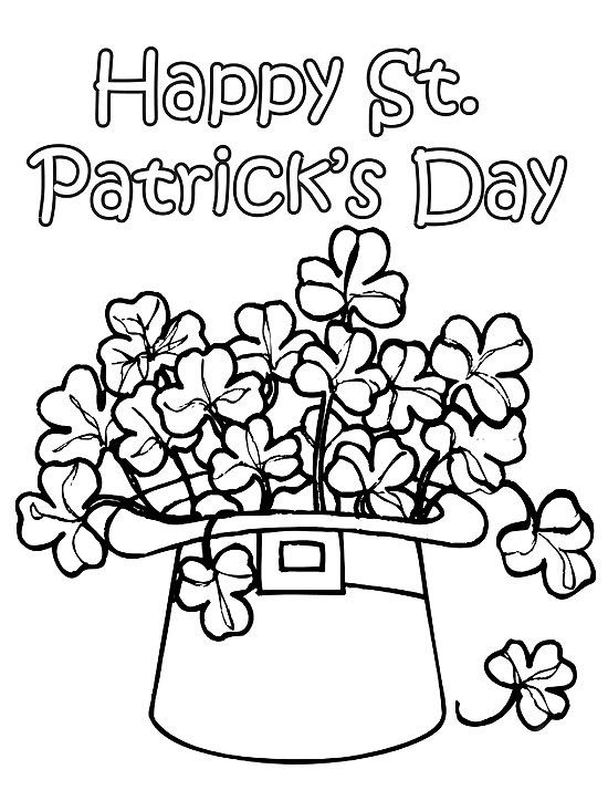 550x733 Printable Spring Coloring Pages