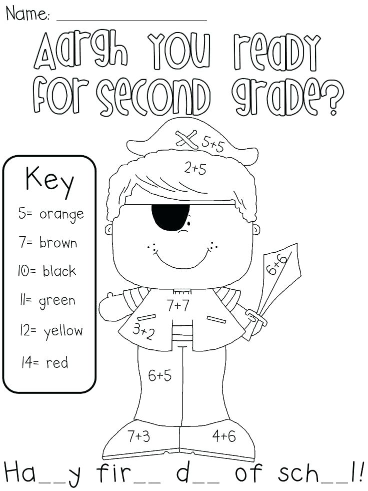 736x981 Second Grade Coloring Pages First Grade Coloring Pages Coloring