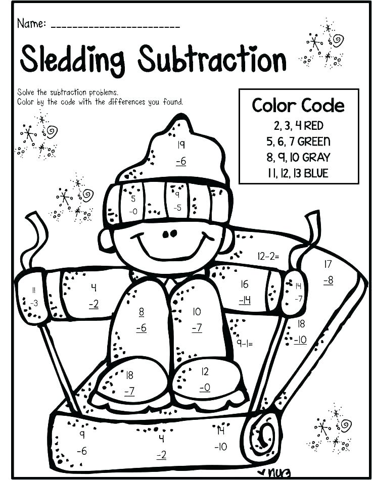 736x950 Coloring Pages Math Math Coloring Sheet Grade Color