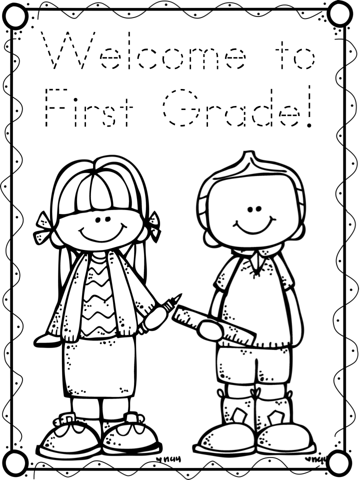 720x960 First Grade Coloring Pages