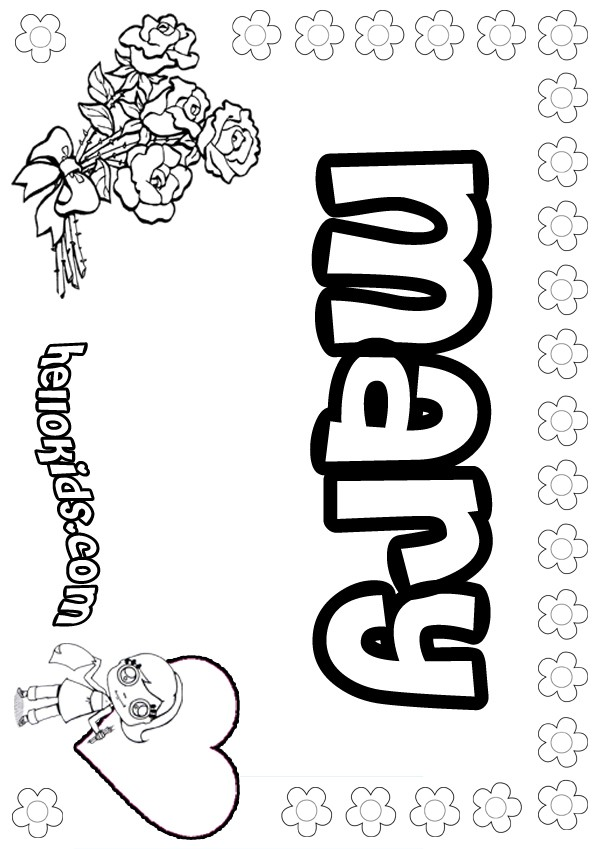 600x849 Mary Coloring Page Coloring Pagesprintables, Templates