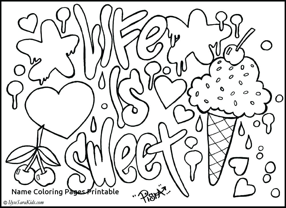 1000x728 Coloring Page First Name Coloring Page First Name Coloring Pages