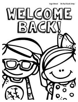 270x350 Free Back To School Coloring Pages First Week Of School