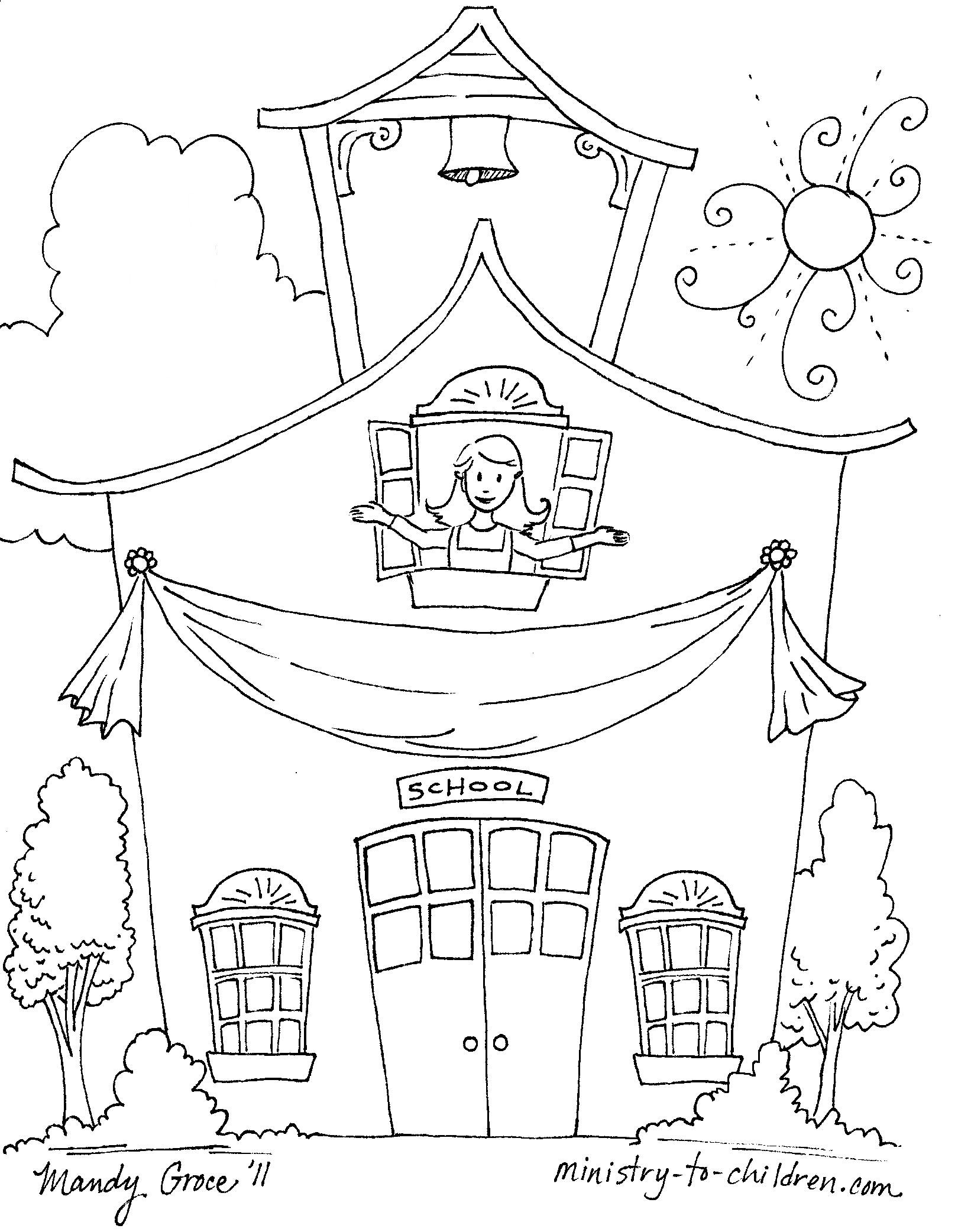 1620x2084 Sampler First Day Of School Coloring Pages For Kindergarten New