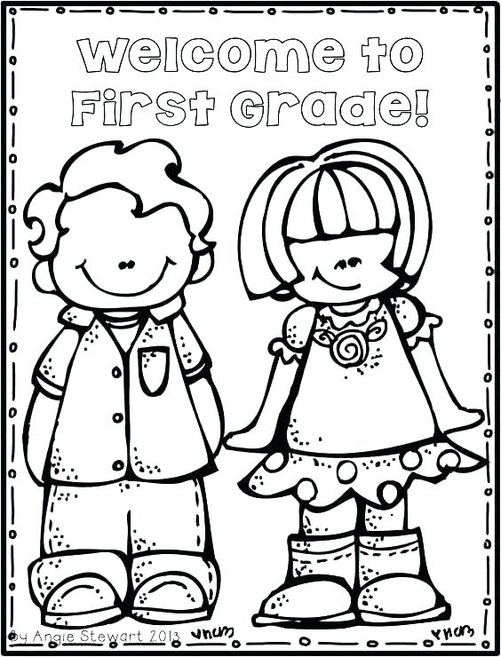 564x740 Coloring Welcome Back To School Coloring Pages Fresh Preschool