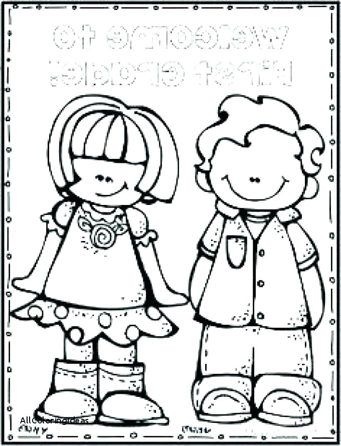 680x890 Welcome Back To School Coloring Pages