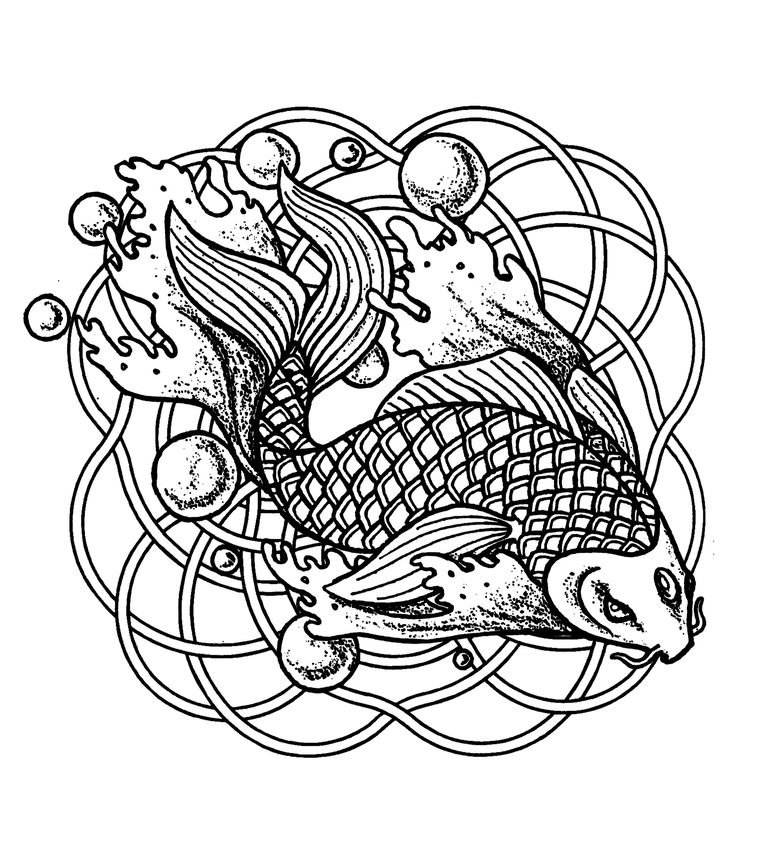 Fish Adult Coloring Pages