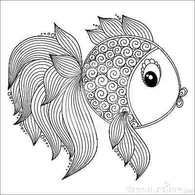 400x400 Fish Coloring Pages For Adults Educational Coloring Pages
