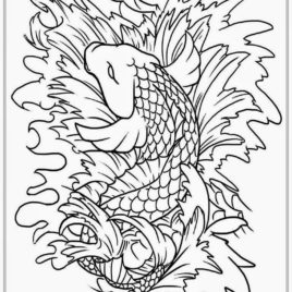 268x268 Fish Tank Coloring Pages Printable Kids Colouring Pages Coloring