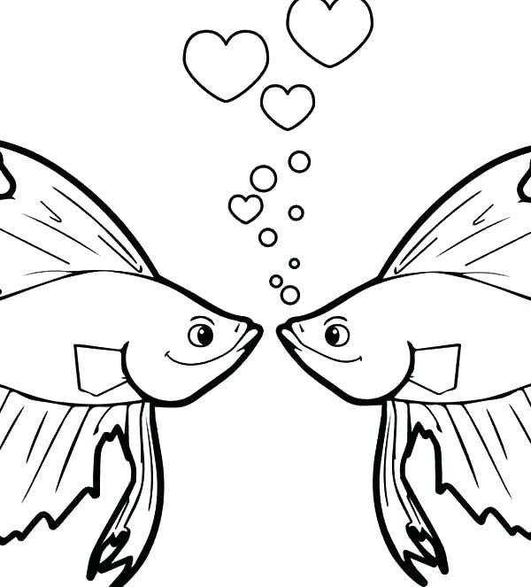 600x663 Cartoon Fish Coloring Pages X Coloring Pages Of Blowfish