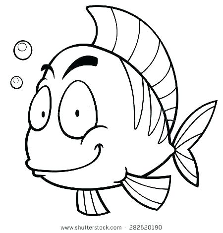 450x470 Bread Coloring Page Coloring Page Of Fish Cartoon Fish Coloring