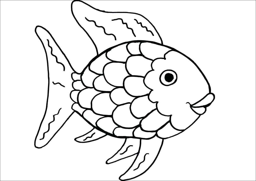 1024x724 Fish Coloring Pictures Fish Cartoon Coloring Page Fish Tank
