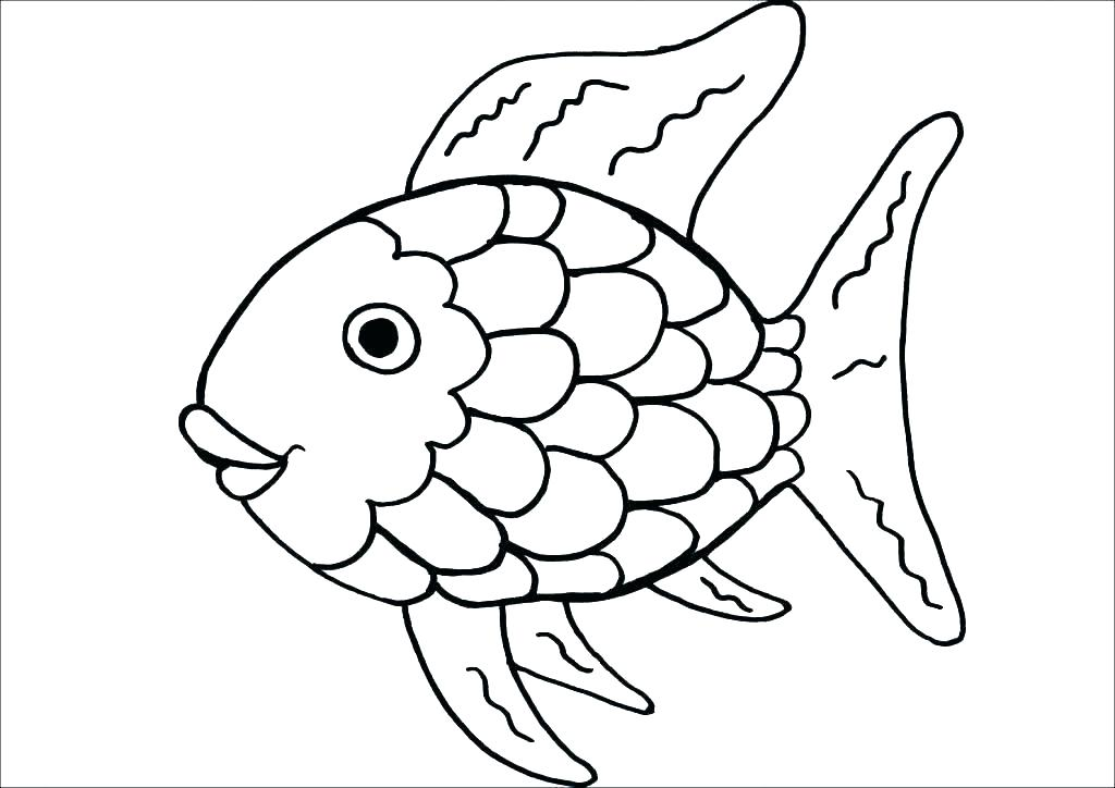 1024x724 Jelly Fish Coloring Page Coloring Page Fish Fish Printable