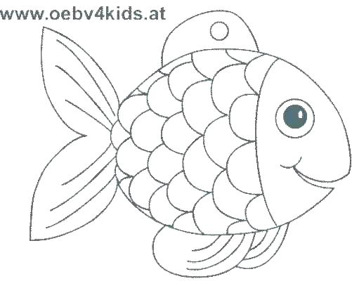 501x400 Cartoon Fish Colouring Pages