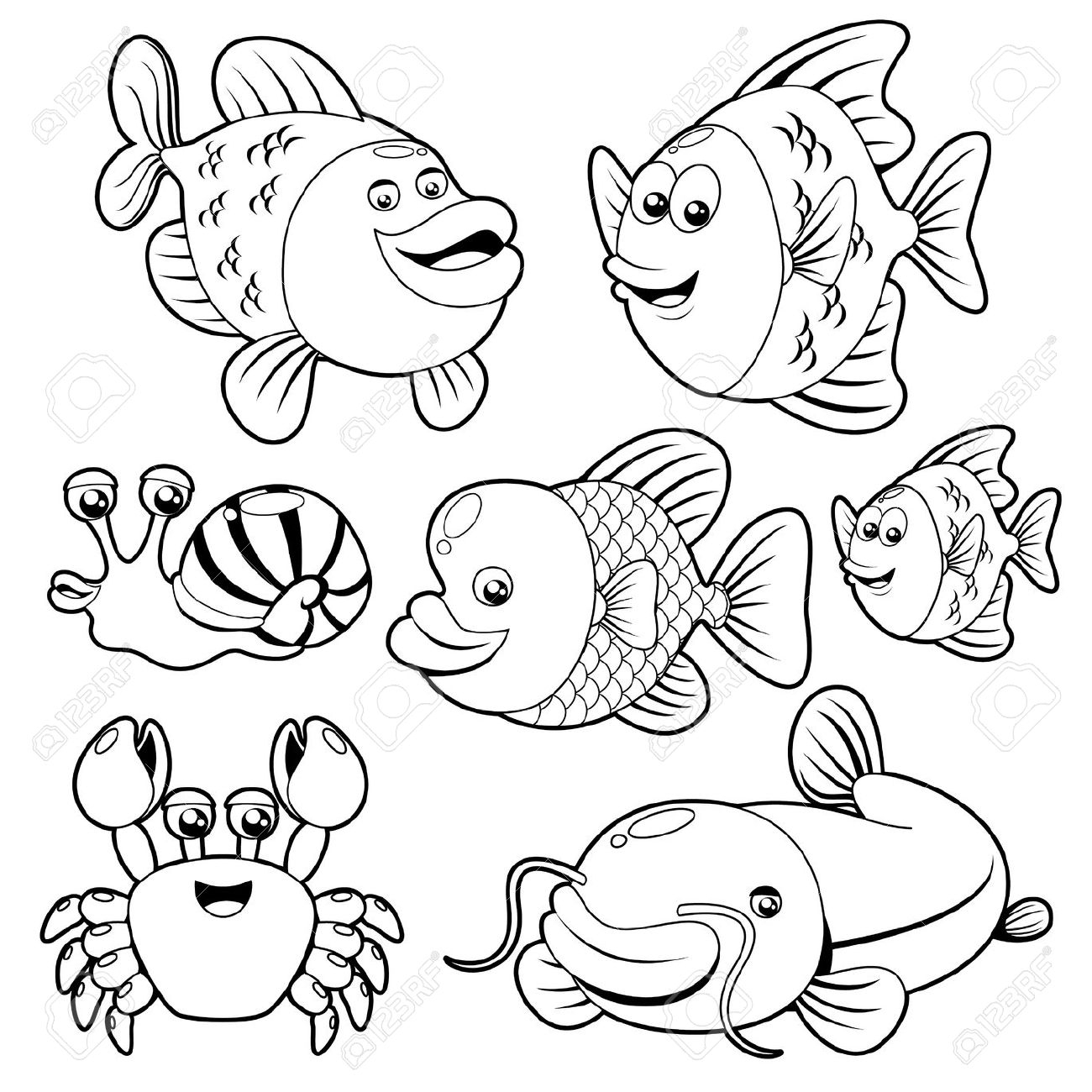 1300x1300 New Water Animal Coloring Pages Gallery Printable Coloring Sheet