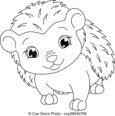 450x455 Clip Art Coloring Pages Hedgehog Coloring Page Clip Art Coloring