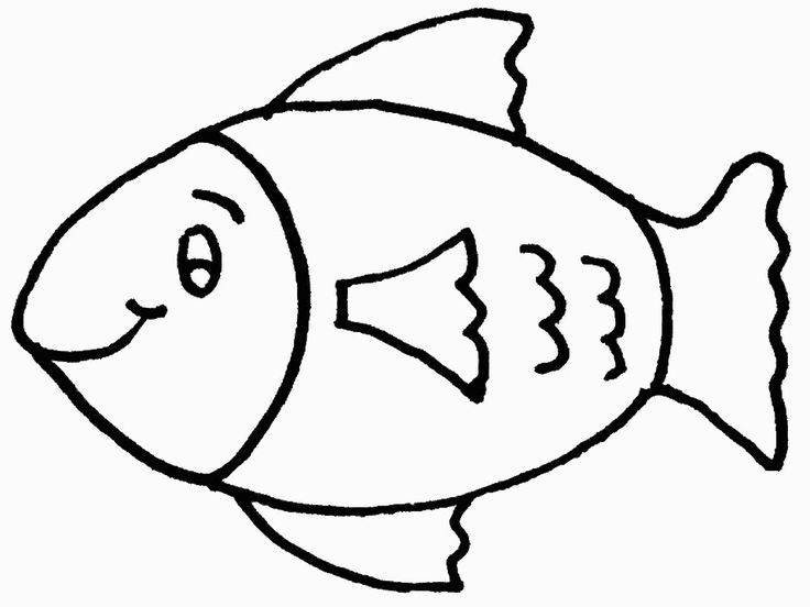 736x552 Fish Coloring Pages For Preschoolers Best Fish Coloring Pages