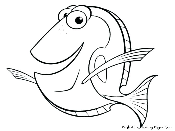 Fish Coloring Pages at GetDrawings.com | Free for personal use Fish ...