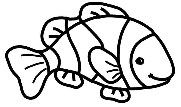 600x355 Clown Fish Coloring Pages Best Place To Color