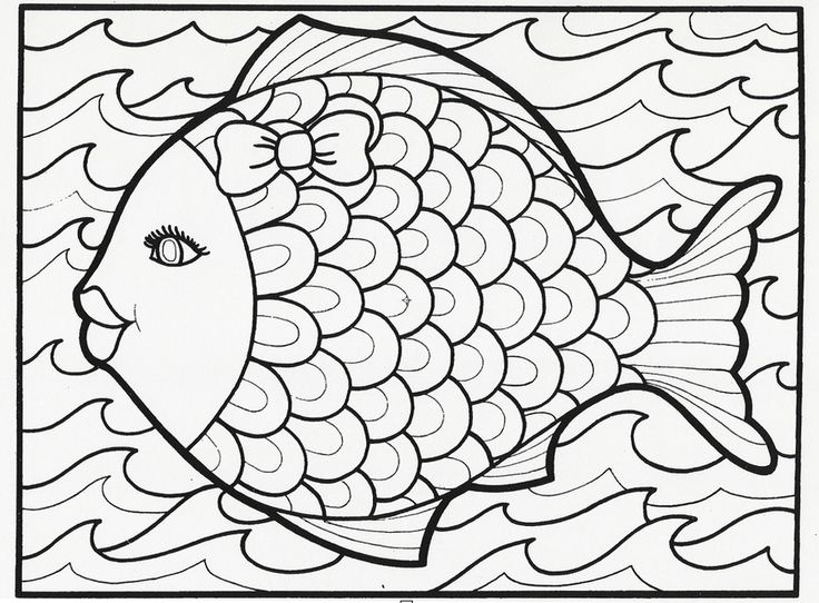 Fish Coloring Pages For Kids at GetDrawings.com | Free for personal ...