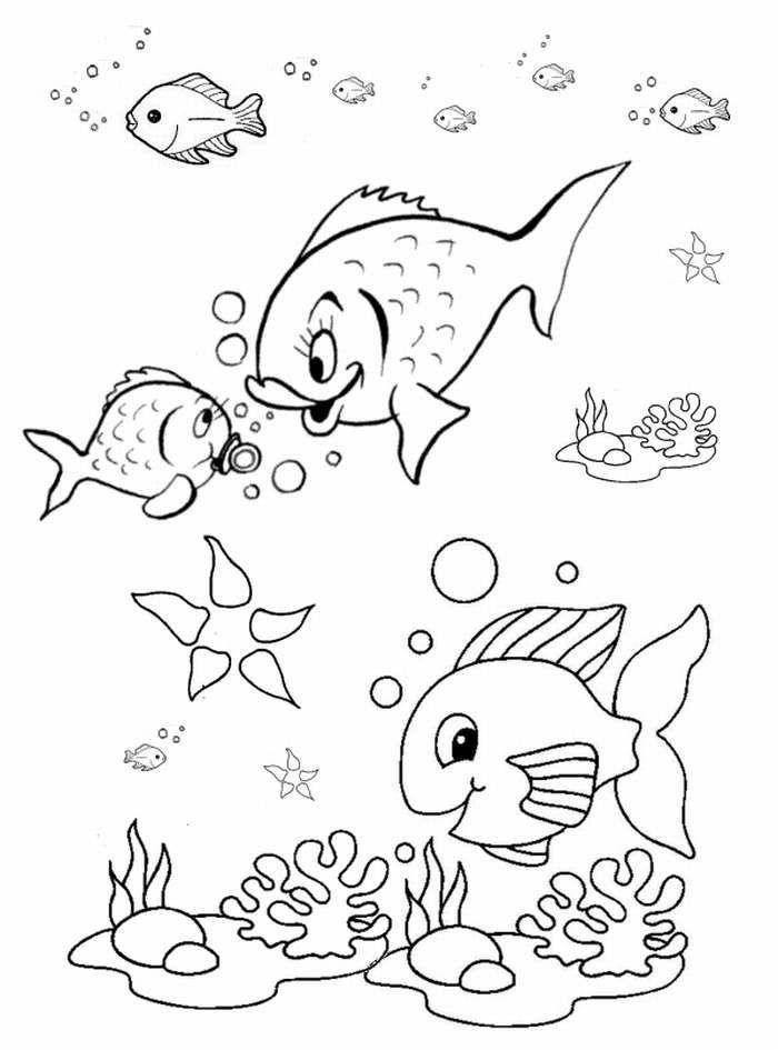 700x945 Mejores De Fish Coloring Pages En Pez