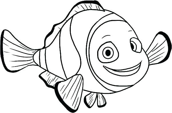 600x396 Ocean Fish Coloring Pages Ocean Fish Coloring Pages Fish Coloring