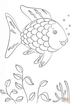 236x339 Preschool Rainbow Fish Coloring Sheet To Print For Free Creative