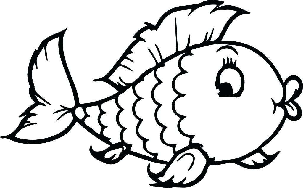 1024x635 Free Printable Preschool Coloring Pages Free Fish Coloring Pages