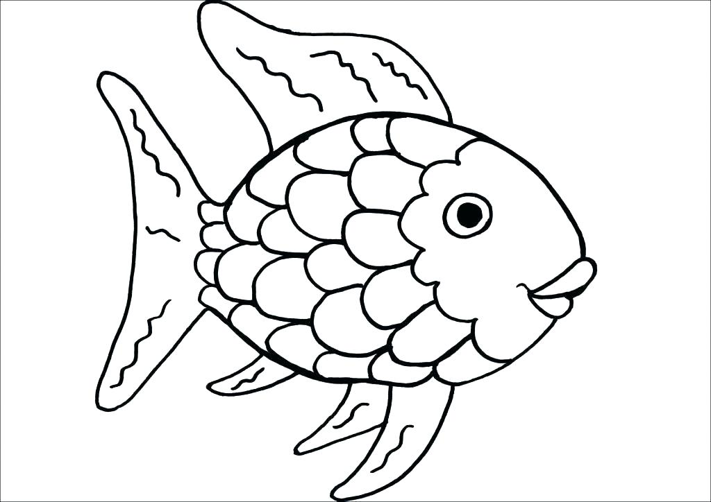 1024x724 Rainbow Coloring Page For Toddlers
